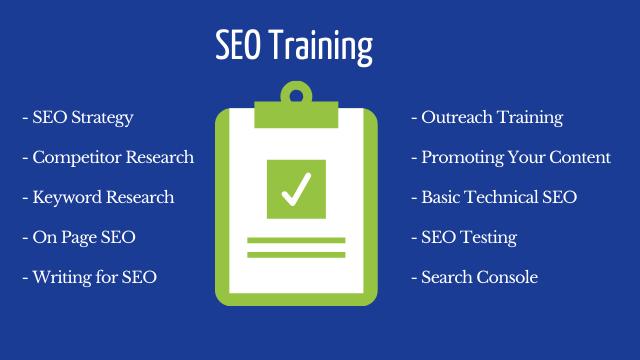 SEO Training Checklist