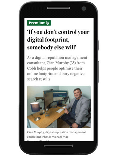 SEO Agency Mentioned in Irish Independent